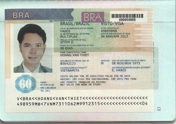 Dịch công chứng tiếng Brazil hộ chiếu