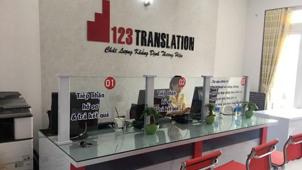 Dịch vụ dịch thuật 123 chất lượng