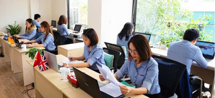 Nhân viên dịch thuật 123 Việt Nam làm việc chuyên nghiệp, uy tín